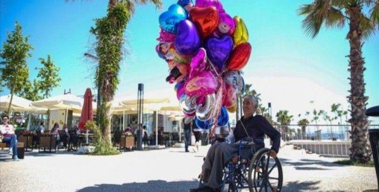 'Engelli olunca hayata küsmedim, hayata tutundum'