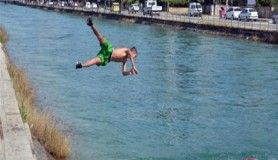 Adana'da sulama kanallarında tehlikeli serinlik