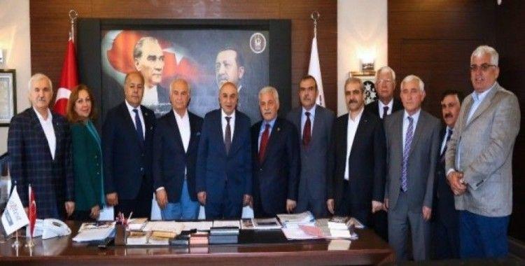 Türk Dünyası Parlamenterler Birliği'nden Başkan Altınok'a ziyaret