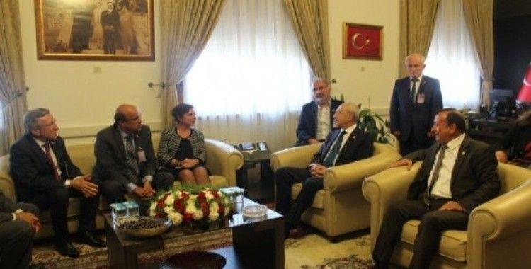 Başkan Köse, Kılıçdaroğlu ile bir araya geldi