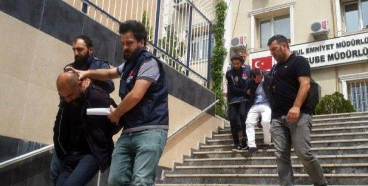 İstanbul'da film gibi soygun yapan gaspçılar film gibi operasyonla yakalandı