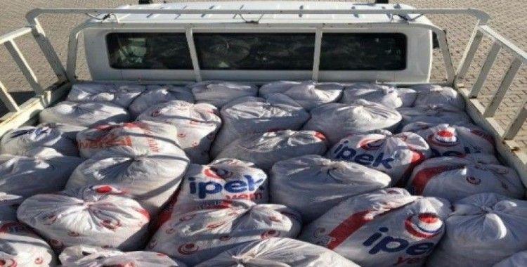Çaldıran'da 1 ton 100 kilo balık ele geçirildi