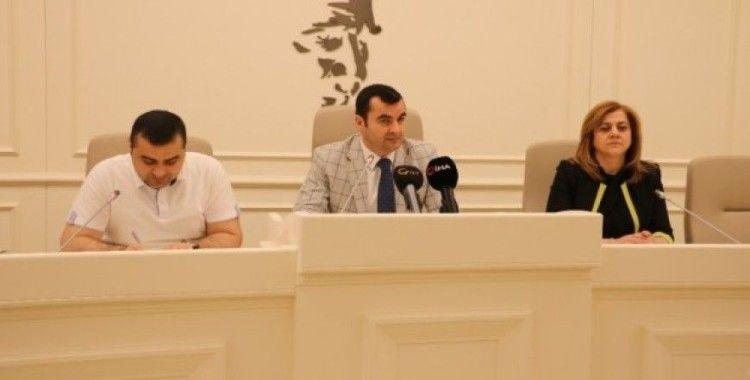 Gaziantep'te mayıs ayı son meclisi toplandı