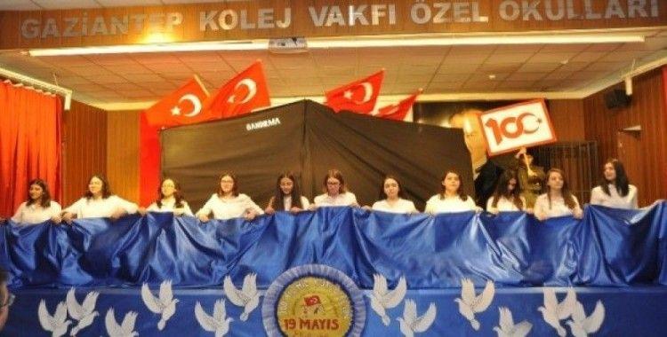 Gaziantep Kolej Vakfı'nda 19 Mayıs Coşkusu