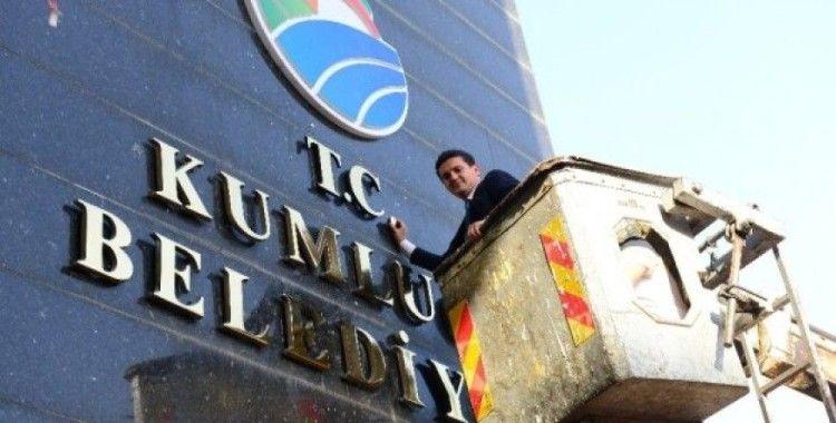 Kumluca Belediyesi'ne T.C. ibaresi eklendi