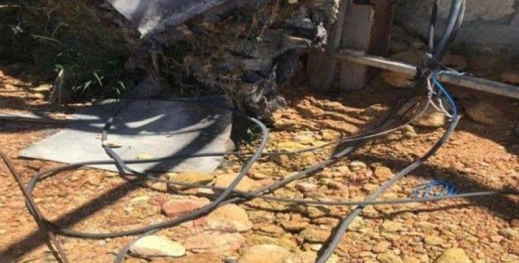 Çevre Koruma Daire Başkanlığına bağlı bahçelerde kablo hırsızlığı