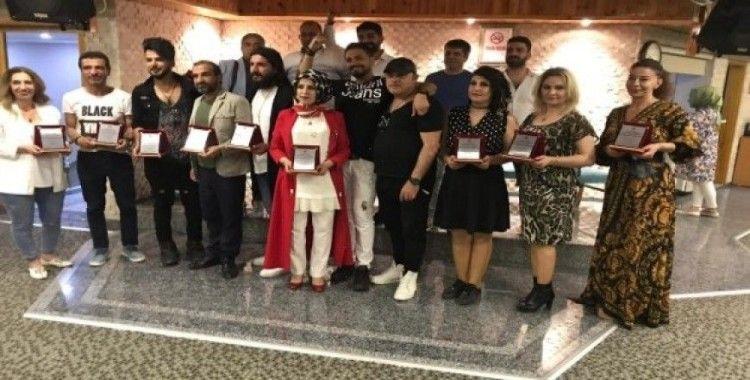 Meslek edinme kursuna katılan kursiyerler sertifikalarını aldı