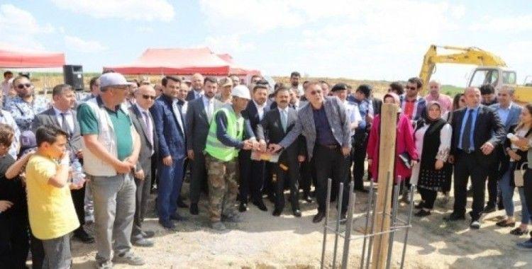 Türkiye'nin en modern Hayvan Kasabası için temel atma töreni düzenlendi