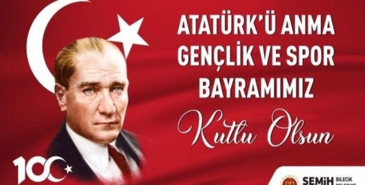 Başkan Şahin'in 19 Mayıs mesajı