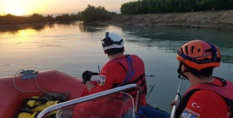 Berdan nehrinde kaybolan Suriyeli çocuğu arama çalışmaları sürüyor