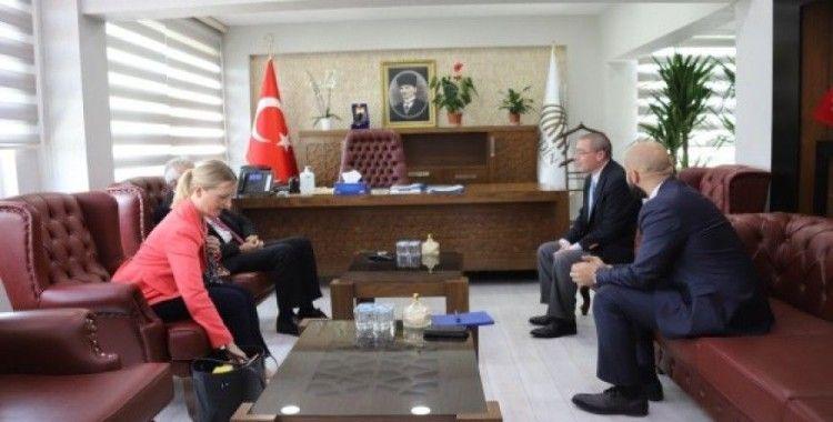 ABD Adana Konsolosluğundan, Eşbaşkanlara ziyaret