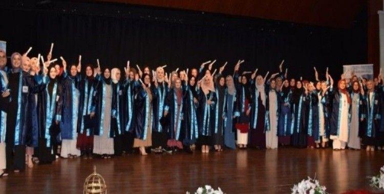 Atakum Anadolu İHL'de mezuniyet heyecanı