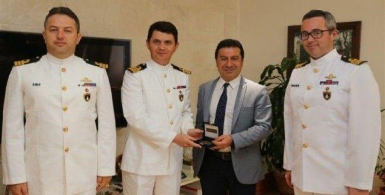 Komutanlardan Başkan Aras'a ziyaret