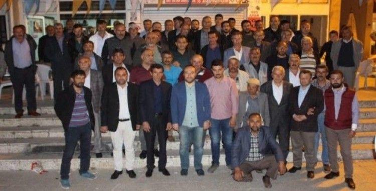 Keskin'de sanayi esnaflarından AK Parti'ye büyük destek