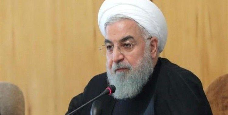 İran Cumhurbaşkanı Ruhani: 'Bu şartlarda müzakere olmaz'