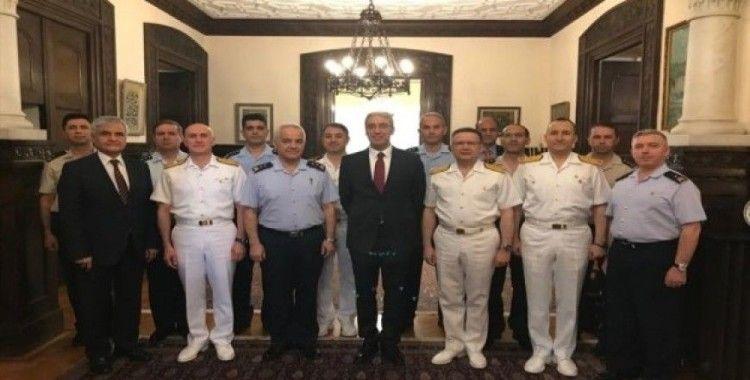 Milli Savunma Bakanlığı heyeti Büyükelçi Özügergin ile toplantı yaptı