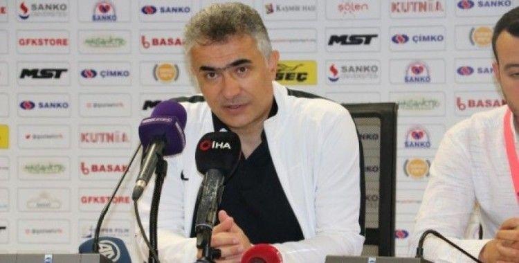 Gazişehir Gaziantep - Osmanlıspor maçın ardından