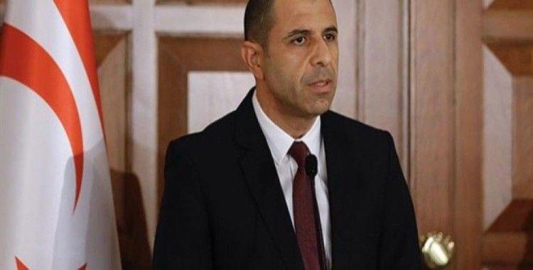 KKTC Başbakan Yardımcısı ve Dışişleri Bakanlığı'ndan Pompeo'ya mektup