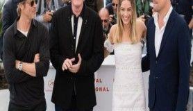 Once Upon A Time In Hollywood filmi oyuncuları Cannes'da yeniden bir arada