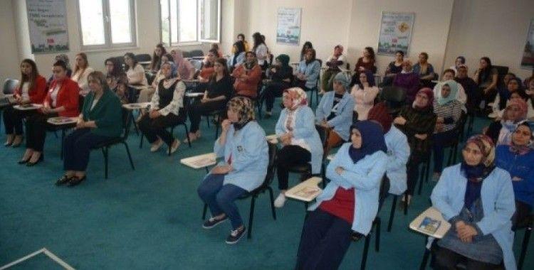 Osmaniye'de kanser bilinçlendirme eğitimi