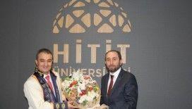 Hitit Üniversitesi'nde devir teslim töreni