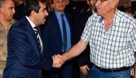Vali Güzeloğlu ve Limak Holding Yönetim Kurulu Başkanı Nihat Özdemir iftar programında buluştu