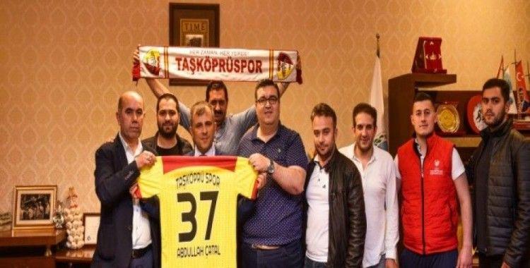 Taşköprüspor'un yeni yönetiminden Başkan Çatal'a ziyaret