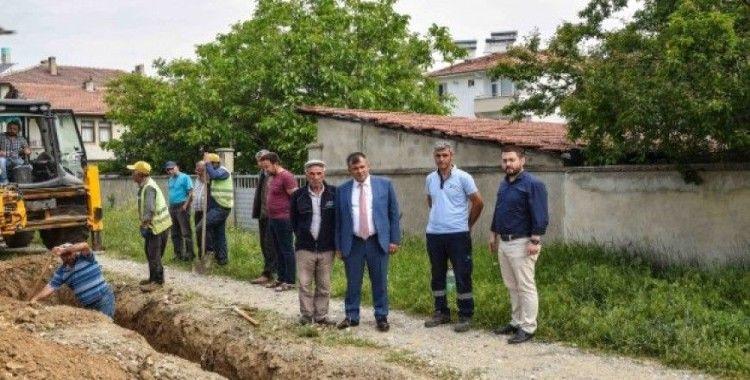 Başkan Çatal, Doğalgaz çalışmalarını yerinde inceledi