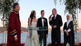 Mesut Özil'in nikah şahidi Cumhurbaşkanı Erdoğan oldu
