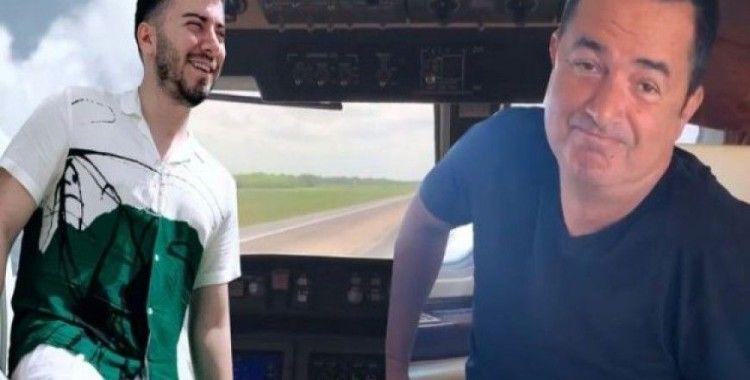 Survivor'a giden Enes Batur, Acun Ilıcalı ile uçaktan paylaşım yaptı