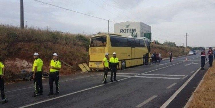 Bandırma'da feci otobüs kazası: 4 ölü 42 yaralı