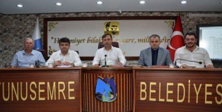Yunusemre Meclisi'nde 15 madde karara bağlandı
