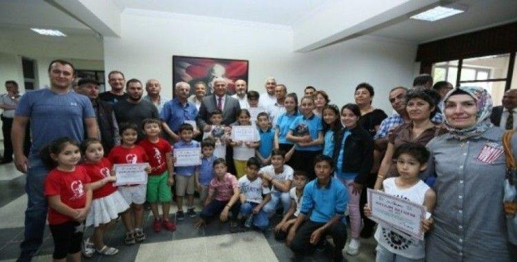 Efeler Belediyesi'nin çevre ödülleri dağıtıldı