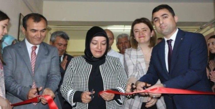 Kaman İlçe Halk Eğitim Merkezinde yıl sonu sergisi açılışı yapıldı