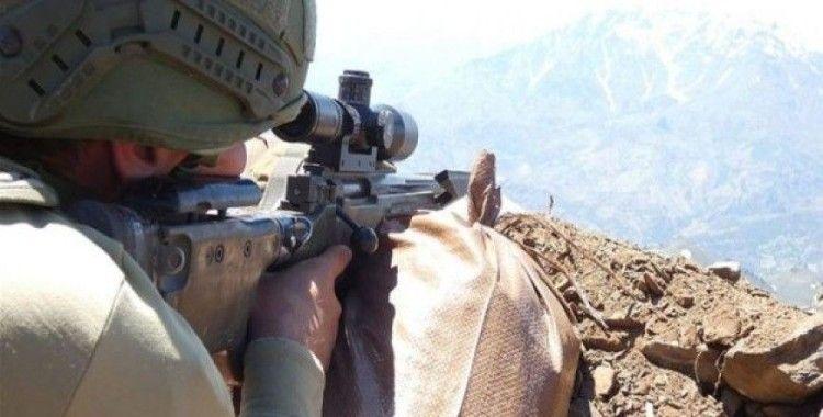 Şırnak'ta 2 terörist etkisiz hale getirildi