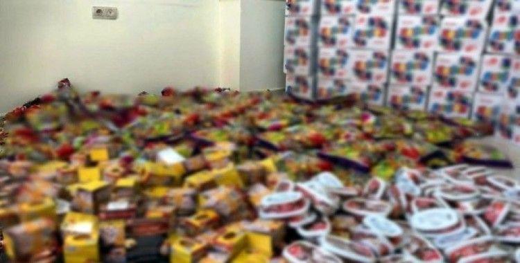 Mardin'de tarihi geçmiş 500 kilogram şeker ele geçirildi