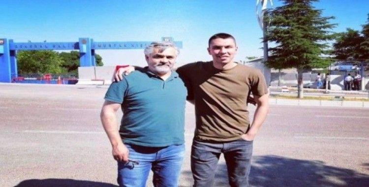 Balıkesirli Alperen Uysal vatani görevi için Elazığ'da