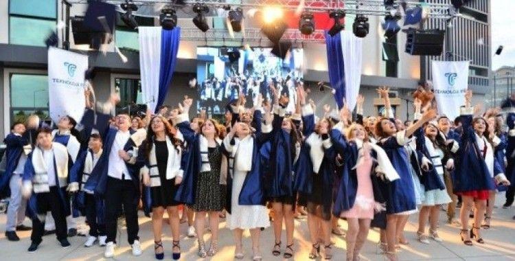 Özel Teknoloji Fen Okulları'nda kep atma heyecanı