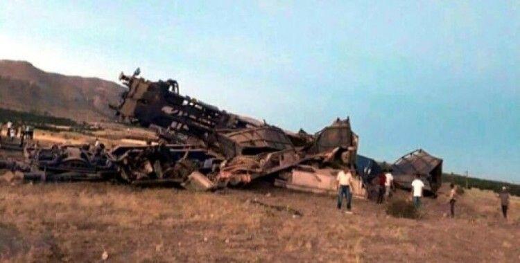 Elazığ'da tren kazası