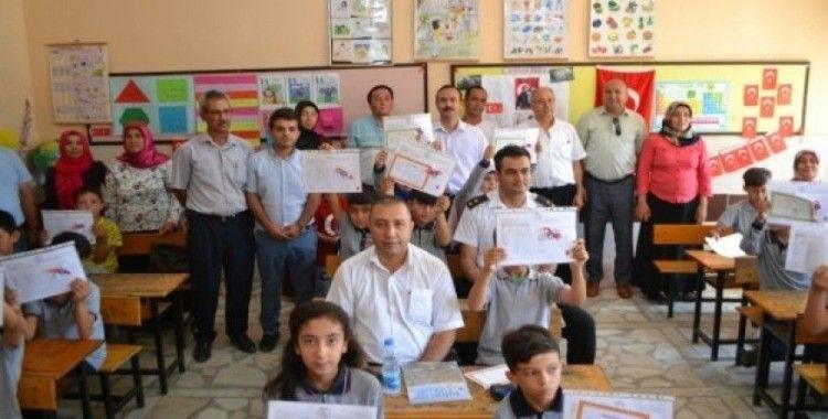 Bozyazı'da 6 bin 58 öğrenci karne aldı
