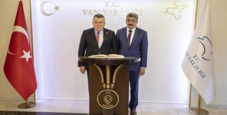 Yargıtay Başkanı Cirit'ten Vali Bilmez'e ziyaret