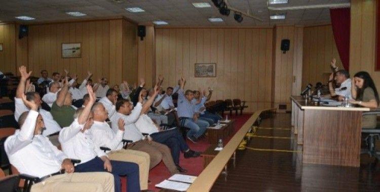 Akdeniz Meclisi, Başkan Gültak'a 15 milyon TL'lik borçlanma yetkisini verdi
