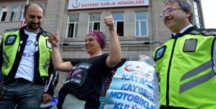 55 ülkeyi dolaşan gezgin, Meme Kanseri Farkındalığı için Türkiye'yi dolaşıyor