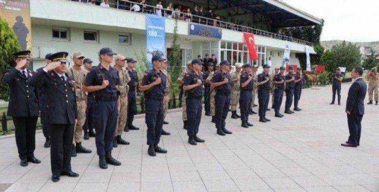 Jandarmanın kuruluşunun 180. yıldönümü kutlandı