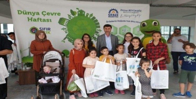 Gebze'de Dünya Çevre günü kutlandı