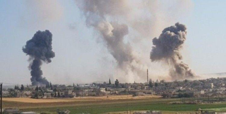 Rusya ve Suriye uçakları Hama ve İdlib'e saldırdı: 28 ölü