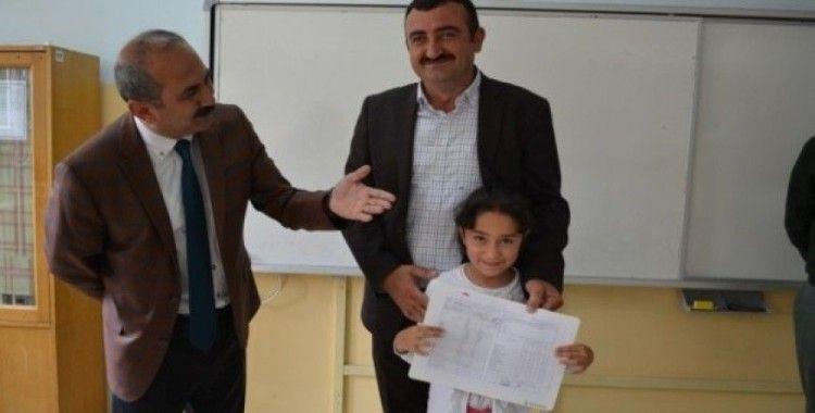 Bünyan'da 4 bin 719 Öğrenci Karne Aldı