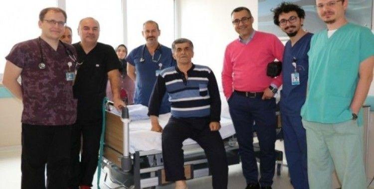 Isparta'da 57 yaşındaki kalp hastası, mitral kapak tamiratı ile sağlığına kavuştu