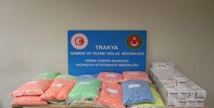 Kapıkule'de yaklaşık 500 bin adet ecstasy ele geçirildi