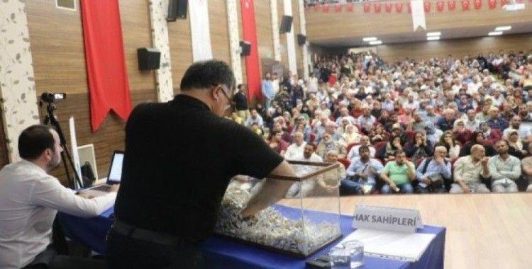 Şanlıurfa'da vatandaşların ev sahibi olma sevinci